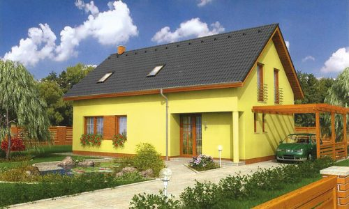 Ausbauhaus Einfamilienhaus - E 136-82